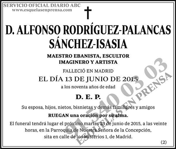 Alfonso Rodríguez-Palancas Sánchez-Isasia